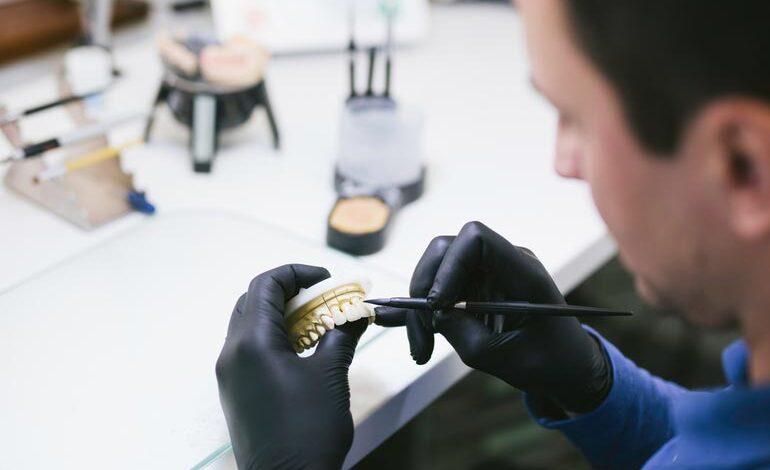 san francisco prosthodontics professional shaping prosthetic teeth